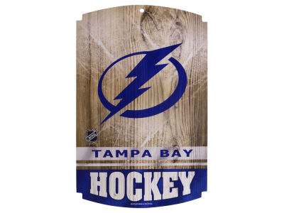 Tampa Bay Lightning 11x17 Wood Sign