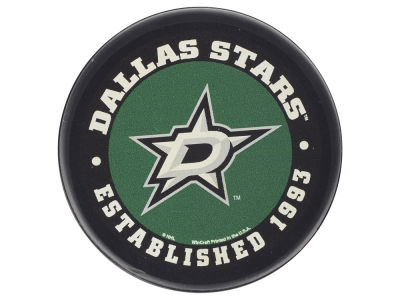 Dallas Stars Flat Team Puck