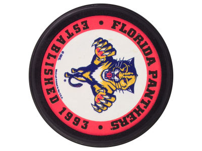 Florida Panthers Flat Team Puck