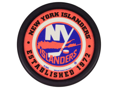 New York Islanders Flat Team Puck