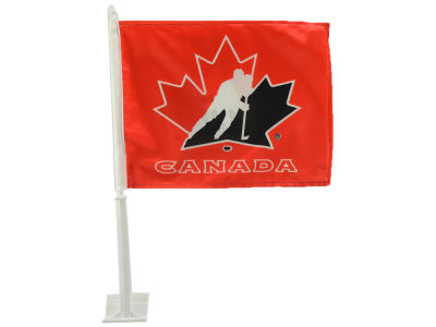 Canada Hockey Car Flag