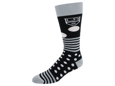 Los Angeles Kings Dots and Stripes Sock