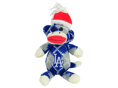 Los Angeles Dodgers Plush Argyle Monkey