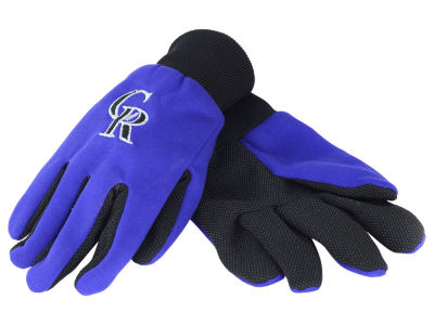 Colorado Rockies Solid Utility Gloves
