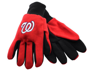 Washington Nationals Forever Collectibles Solid Utility Gloves