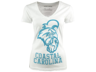 Coastal Carolina Chanticleers NCAA Womens Charlie T-Shirt 2014