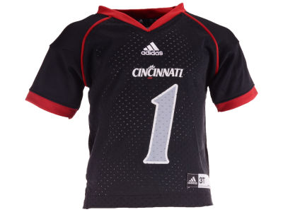 Cincinnati Bearcats #1 adidas NCAA Toddler Replica Football Jersey