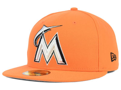 Miami Marlins New Era MLB C-Dub 2.0 59FIFTY Cap