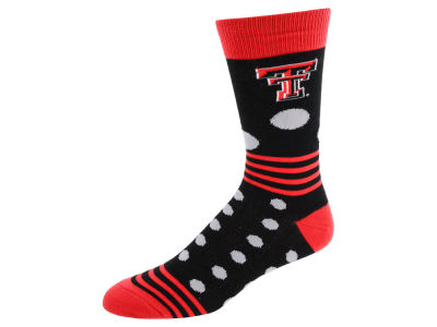 Texas Tech Red Raiders Dots and Stripes Sock
