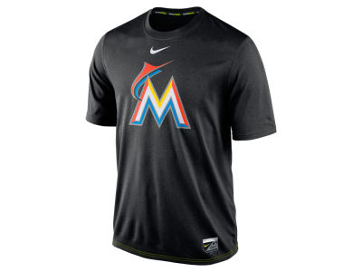 Miami Marlins Nike MLB Men's AC Logo Legend T-Shirt