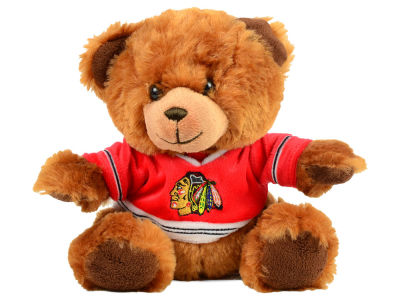 Chicago Blackhawks 7.5inch Premium Plush Shirt Bear