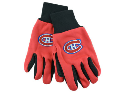 Montreal Canadiens Solid Utility Gloves