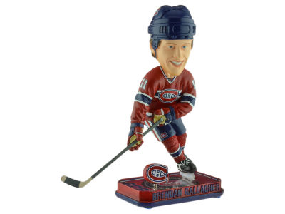 Montreal Canadiens Brendan Gallagher Springy Logo Bobble