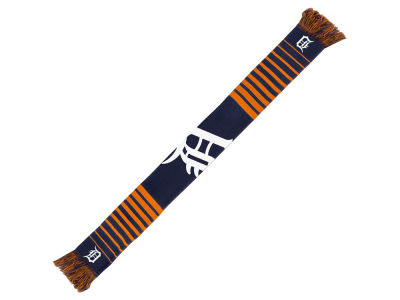 Detroit Tigers Acrylic Knit Scarf Big Logo