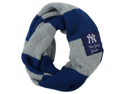 New York Yankees Color Block Infinity Scarf