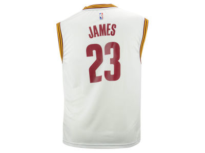 Cleveland Cavaliers LeBron James adidas NBA Rev 30 Replica Jersey