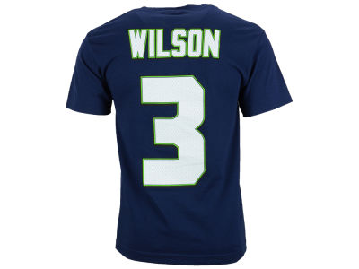 Seattle Seahawks Russell Wilson NFL Men's Eligible Receiver II T-Shirt
