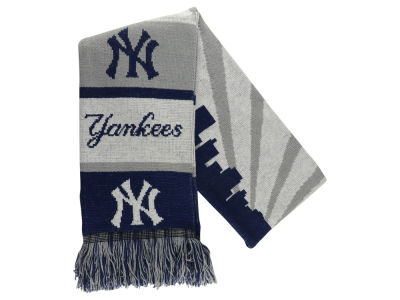 New York Yankees Acrylic Knit Scarf Skyline