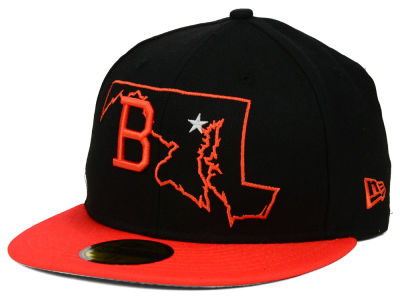 Baltimore Orioles New Era MLB States 59FIFTY Cap