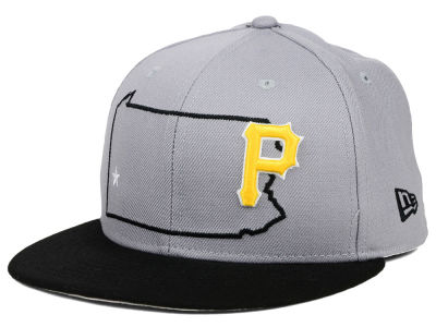 Pittsburgh Pirates New Era MLB States 59FIFTY Cap