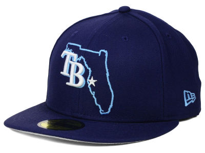 Tampa Bay Rays New Era MLB States 59FIFTY Cap
