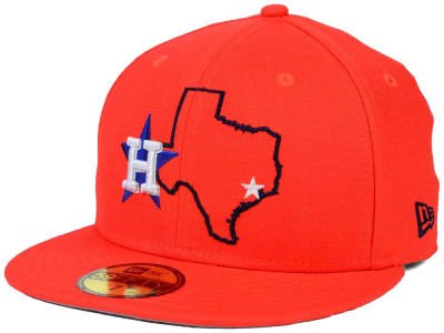 Houston Astros New Era MLB States 59FIFTY Cap
