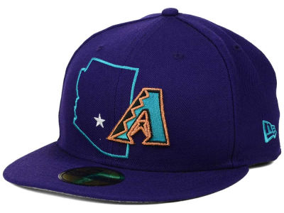 Arizona Diamondbacks New Era MLB States 59FIFTY Cap