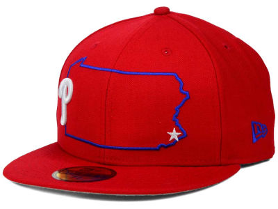Philadelphia Phillies New Era MLB States 59FIFTY Cap
