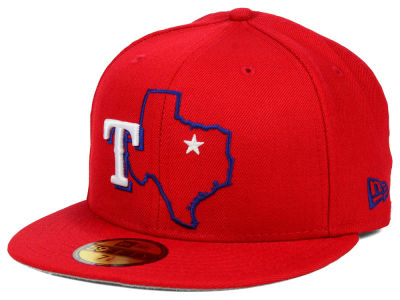 Texas Rangers New Era MLB States 59FIFTY Cap