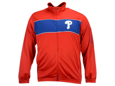 Philadelphia Phillies GIII MLB Men's Punch Out Track Jacket