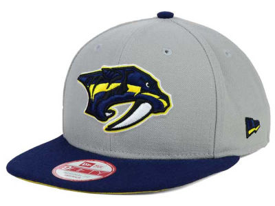 Nashville Predators New Era NHL Bright Ice Up 9FIFTY Snapback Cap