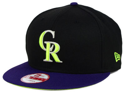 Colorado Rockies New Era MLB AC Pop 9FIFTY Snapback Cap