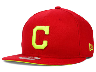 Cleveland Indians New Era MLB AC Pop 9FIFTY Snapback Cap