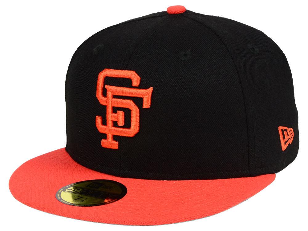 San Francisco Giants New Era MLB Cooperstown 59FIFTY Cap  9d57823edaeb