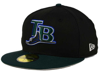 Tampa Bay Rays New Era MLB Cooperstown 59FIFTY Cap