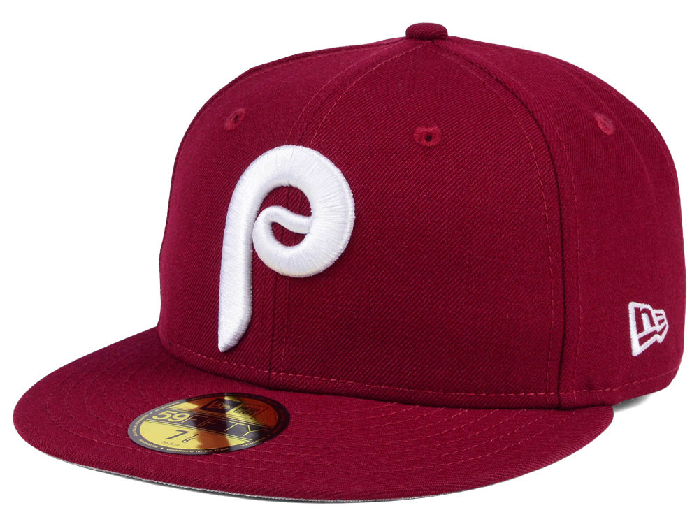 Philadelphia Phillies New Era MLB Cooperstown 59FIFTY Cap  6d5bc006170