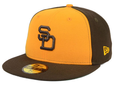 San Diego Padres New Era MLB Cooperstown 59FIFTY Cap