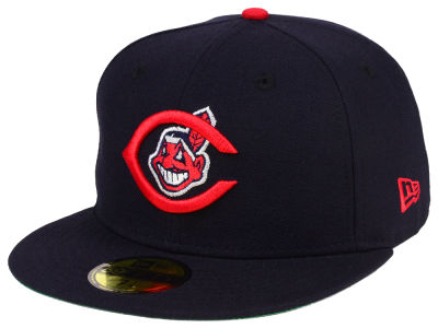 Cleveland Indians New Era MLB Cooperstown 59FIFTY Cap
