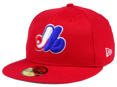 Montreal Expos New Era MLB Cooperstown 59FIFTY Cap