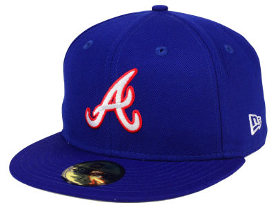 Atlanta Braves New Era MLB Cooperstown 59FIFTY Cap