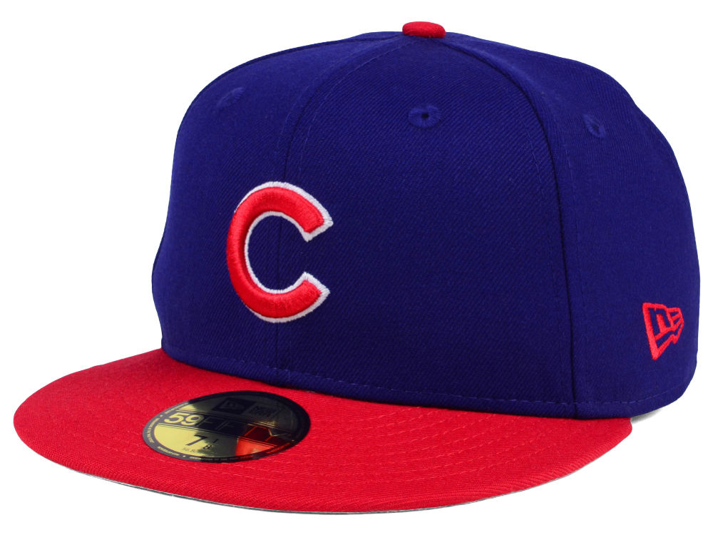 Chicago Cubs New Era MLB Cooperstown 59FIFTY Cap  9d8610f5fde