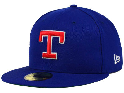 Texas Rangers New Era MLB Cooperstown 59FIFTY Cap