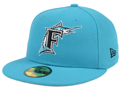 Florida Marlins New Era MLB Cooperstown 59FIFTY Cap