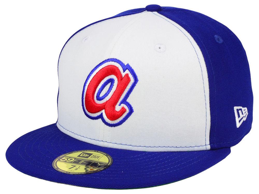 Atlanta Braves New Era MLB Cooperstown 59FIFTY Cap  8c10e7ddf59