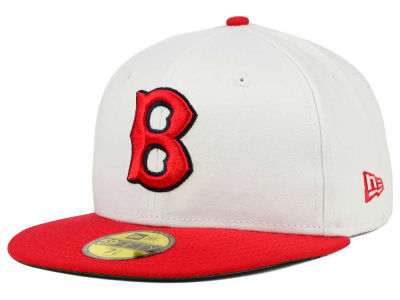 Boston Red Sox New Era MLB Cooperstown 59FIFTY Cap