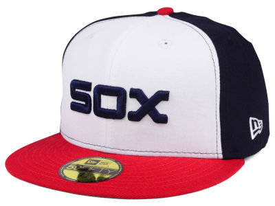 Chicago White Sox New Era MLB Cooperstown 59FIFTY Cap