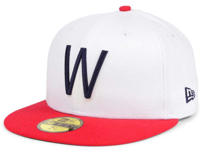 Washington Senators New Era MLB Cooperstown 59FIFTY Cap