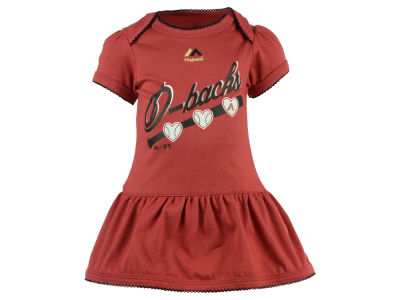 Arizona Diamondbacks MLB Infant Girls Onesie Dress