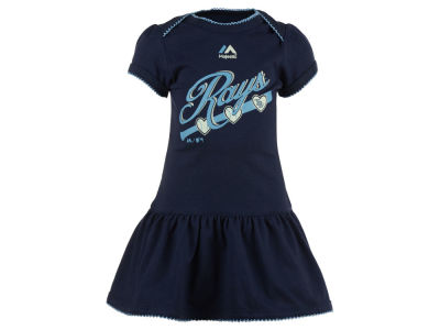 Tampa Bay Rays MLB Infant Girls Onesie Dress