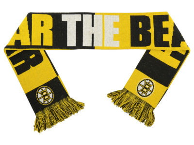 Boston Bruins Slogan Scarf